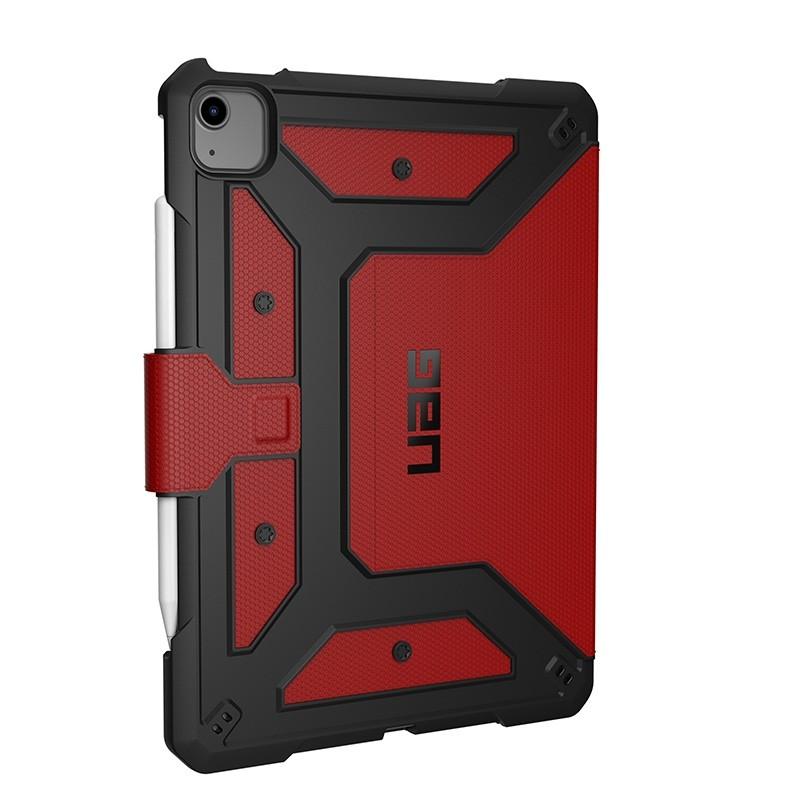 UAG Metropolis iPad Air 10.9 (2020) / iPad Pro 11 inch (2021/2020/2018) Folio Hoes Rood 01