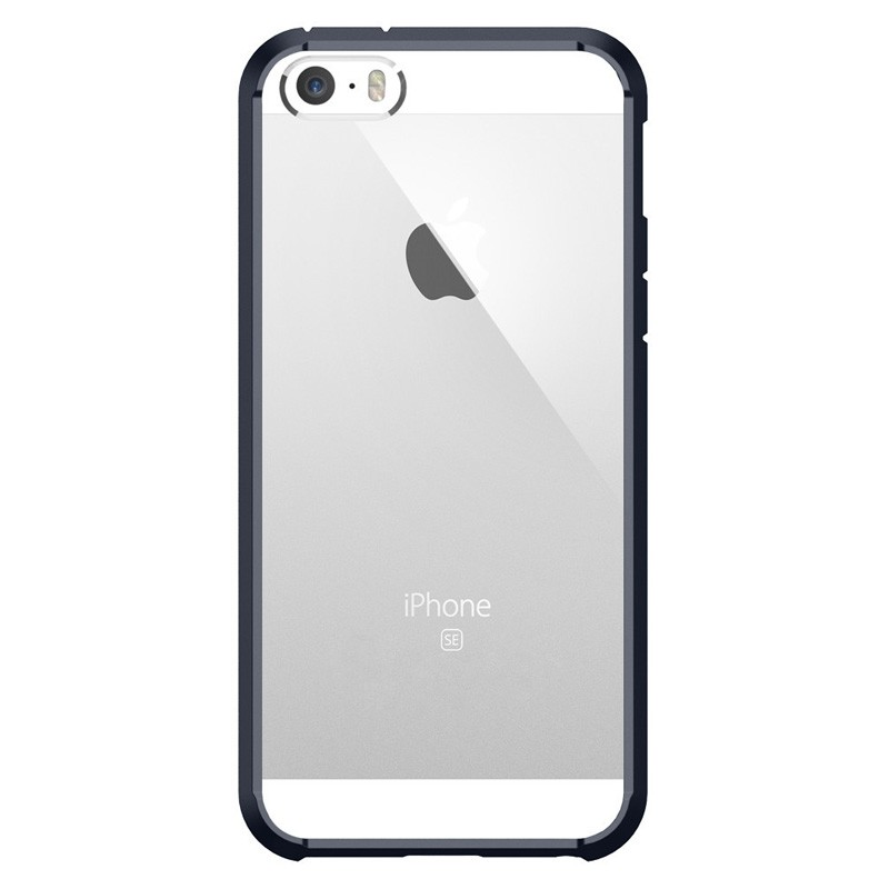 Spigen Ultra Hybrid Case iPhone SE / 5S / 5 Black - 1