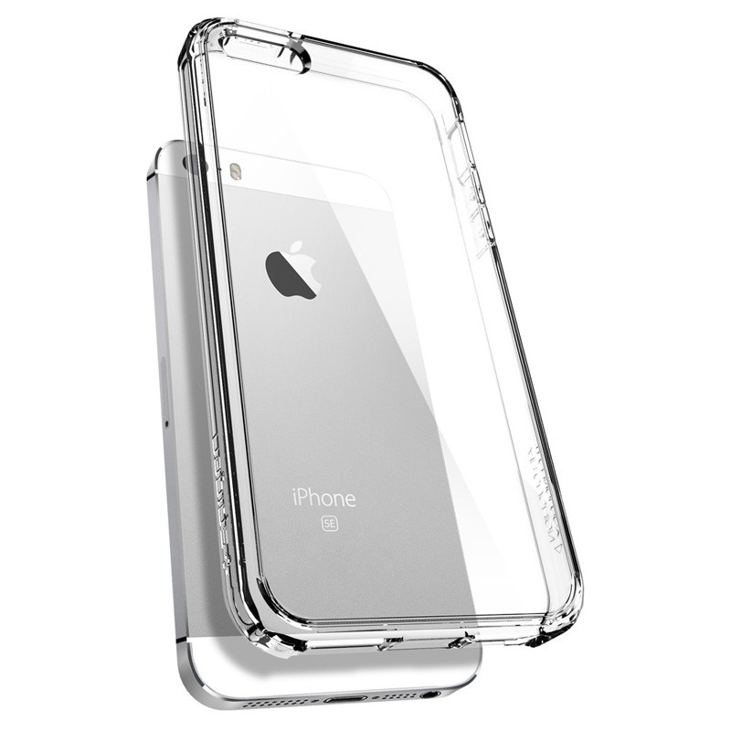 Spigen Ultra Hybrid Case iPhone SE / 5S / 5 Clear - 5
