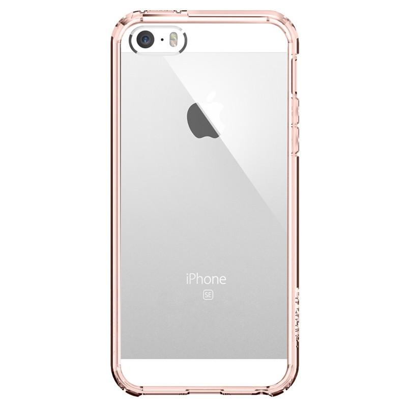 Spigen Ultra Hybrid Case iPhone SE / 5S / 5 Rose Gold - 1