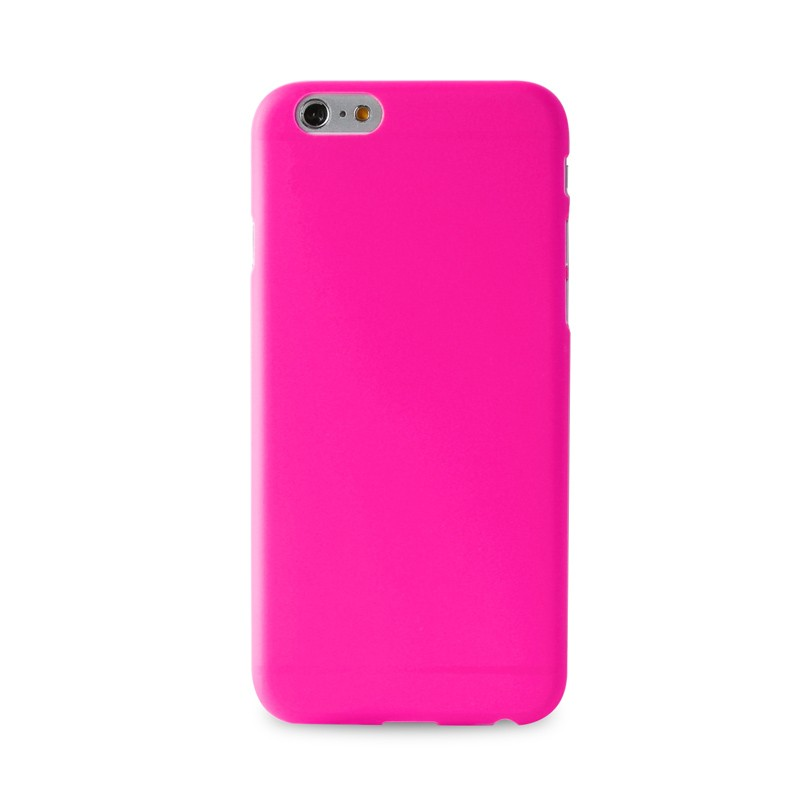 Puro UltraSlim Backcover iPhone 6 Pink - 1