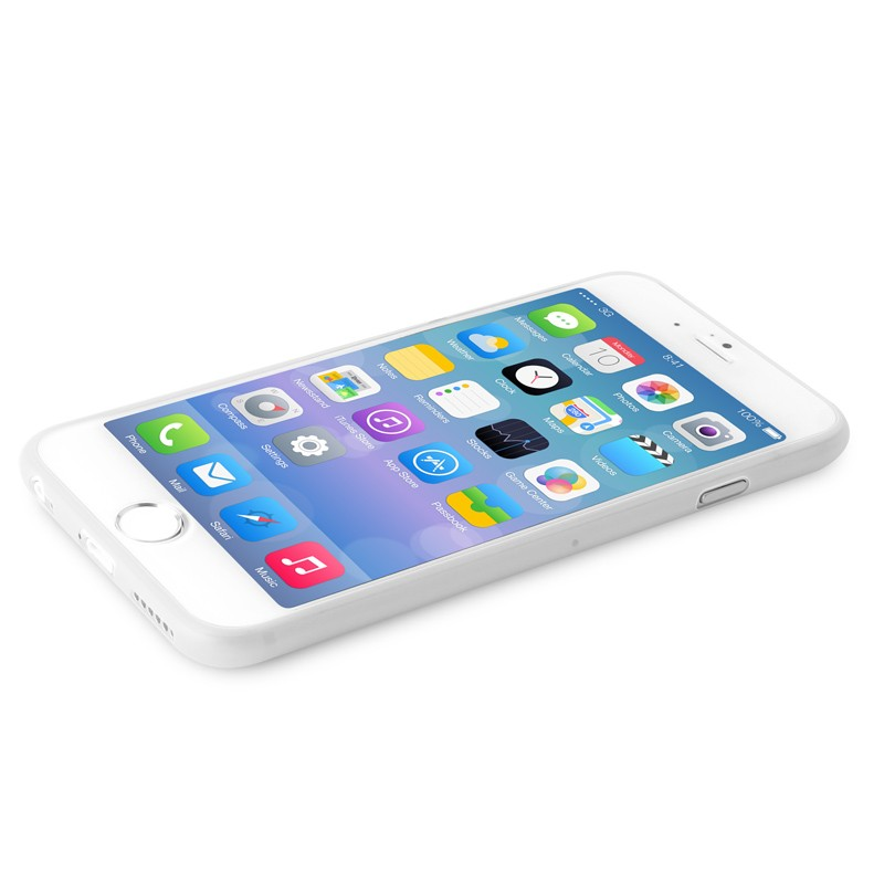 Puro UltraSlim Backcover iPhone 6 Plus White - 6