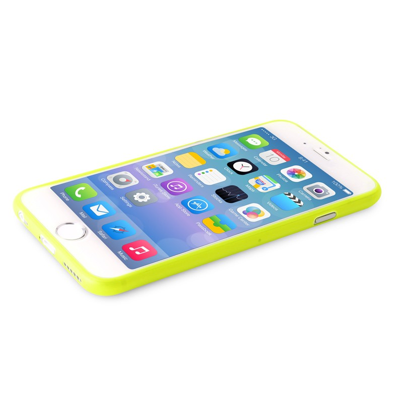 Puro UltraSlim Backcover iPhone 6 Plus Yellow - 6