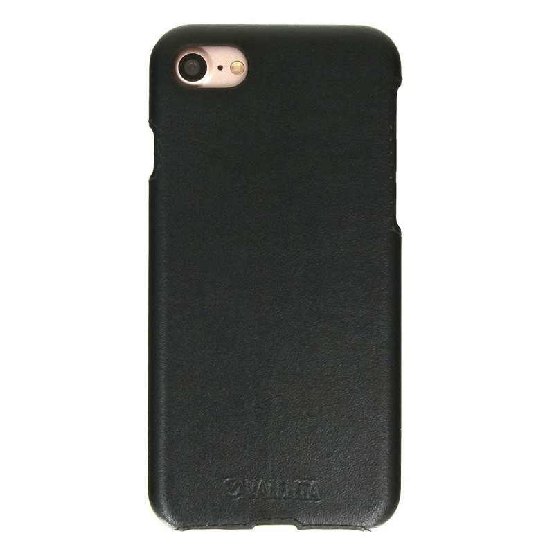 Valenta Back Cover Classic Luxe iPhone 7 Black - 1