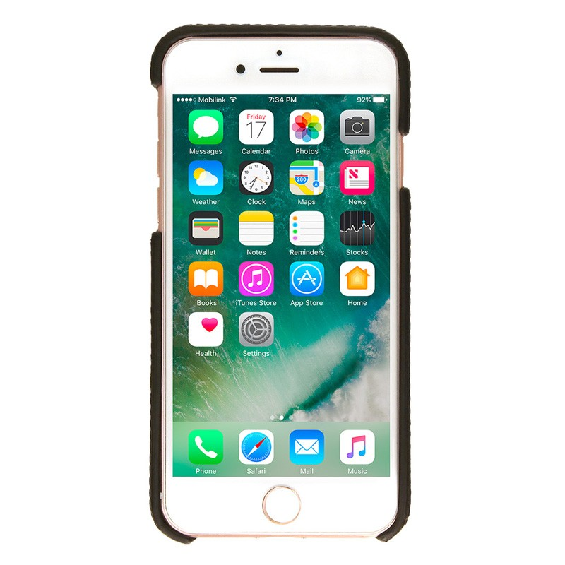 Valenta Back Cover Classic Luxe iPhone 7 Black - 2
