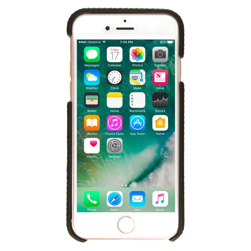 Valenta Back Cover Classic Luxe iPhone 7 Brown - 2
