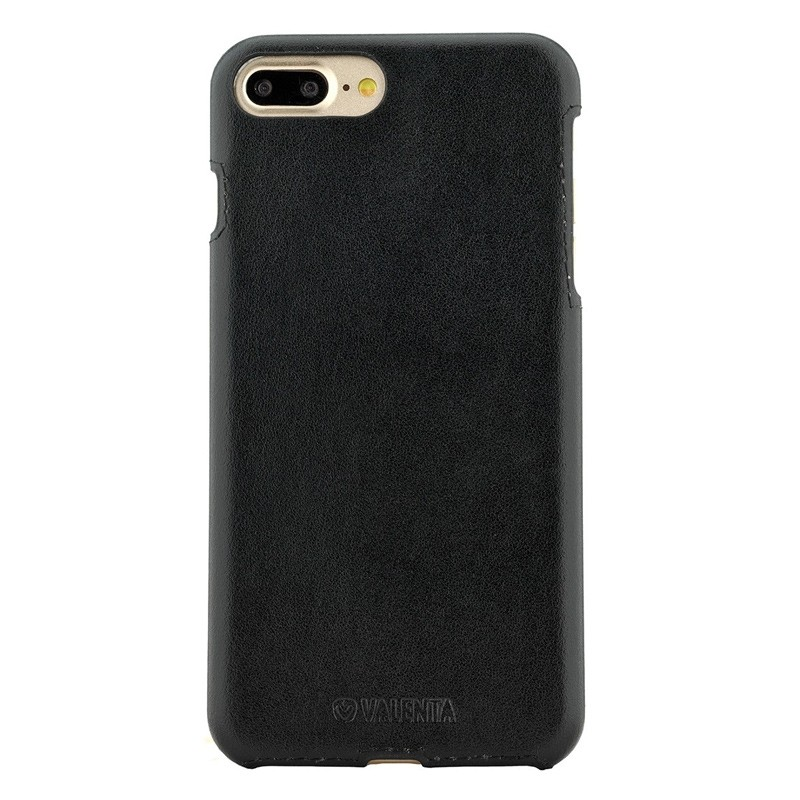 Valenta - Back Cover Classic iPhone 8 Plus/7 Plus Black 01