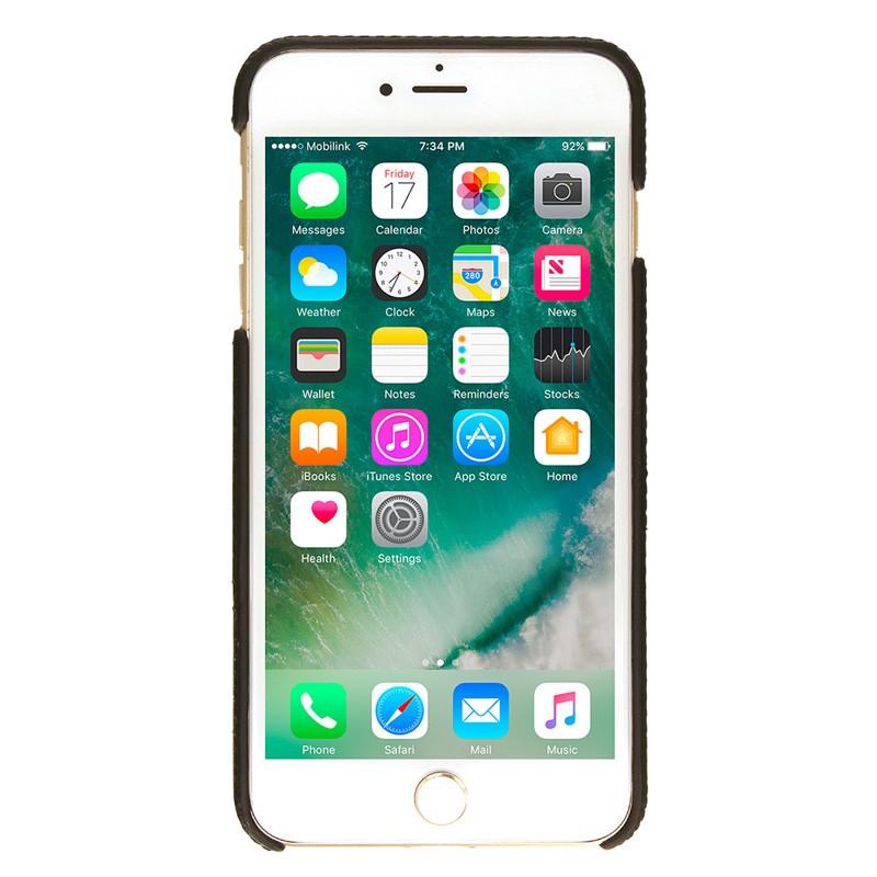 Valenta Back Cover Classic Luxe iPhone 7 Plus Black - 2
