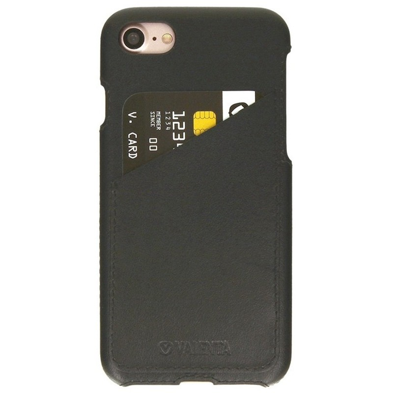 Valenta - Back Cover Classic Luxe iPhone 8/7 vintage black 01