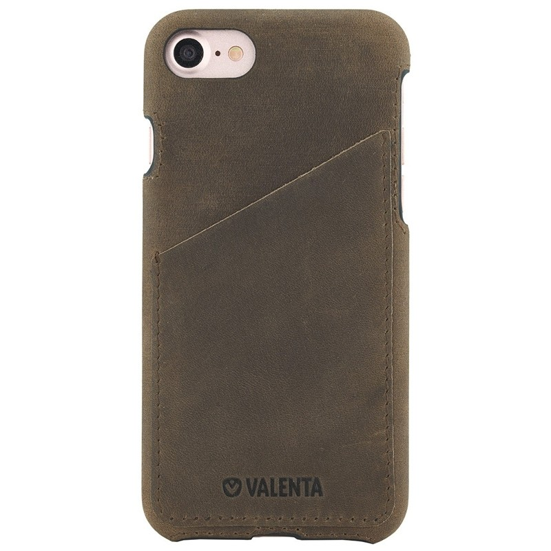 Valenta - Back Cover Classic Luxe iPhone 8/7 vintage brown 01