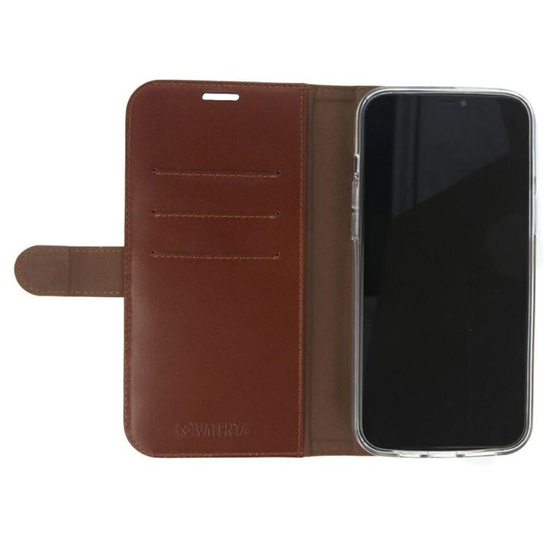 Valenta Booklet Classic iPhone 12 / 12 Pro Bruin - 9