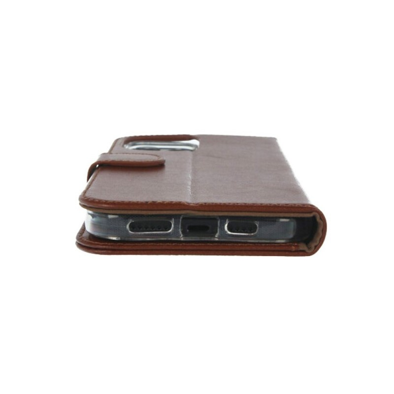 Valenta Booklet Classic iPhone 12 Pro Max Bruin - 5