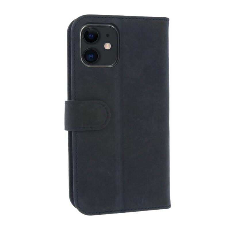 Valenta Book Case Classic iPhone 12 Pro Max Blauw - 10