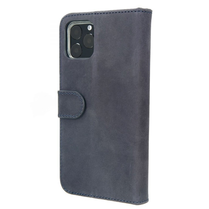 Valenta Booklet Classic Luxe iPhone 11 Pro Vintage Blue 02
