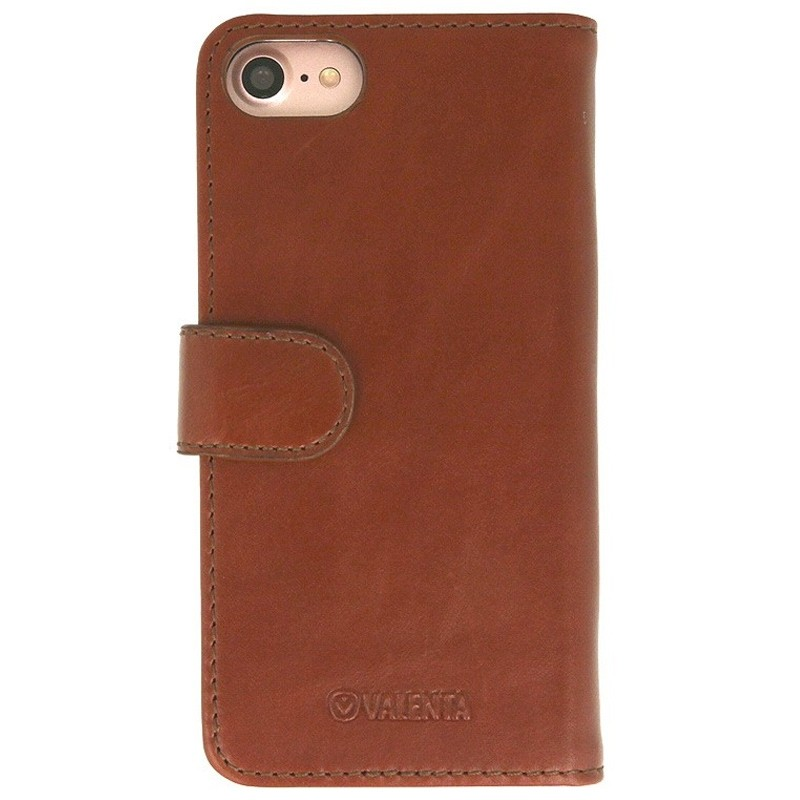 Valenta Booklet Classic Luxe iPhone SE (2020)/8/7 brown 02