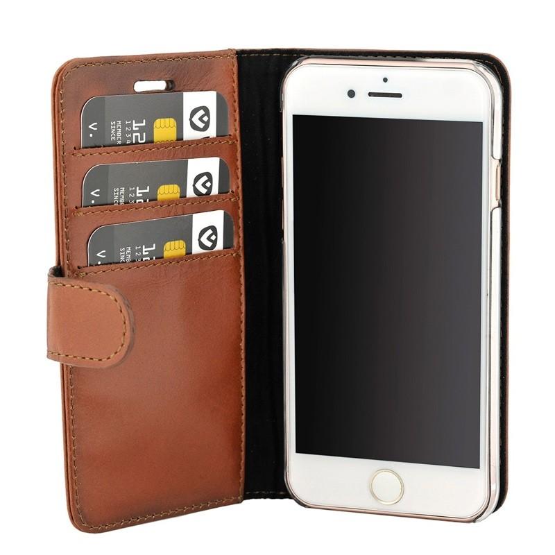 Valenta Booklet Classic Luxe iPhone 8 Plus/7 Plus brown 03