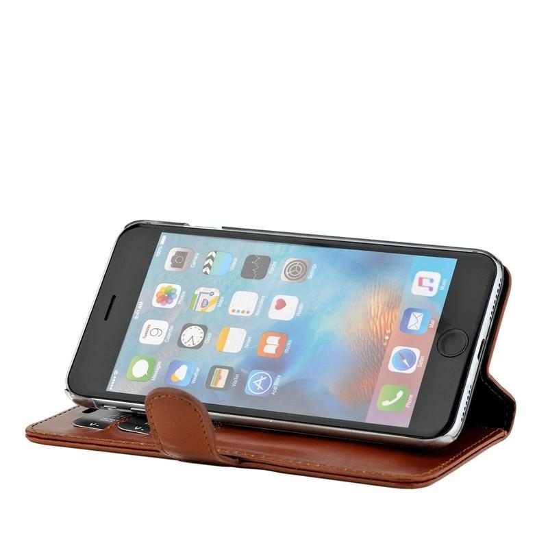 Valenta Booklet Classic Luxe iPhone 8 Plus/7 Plus brown 04
