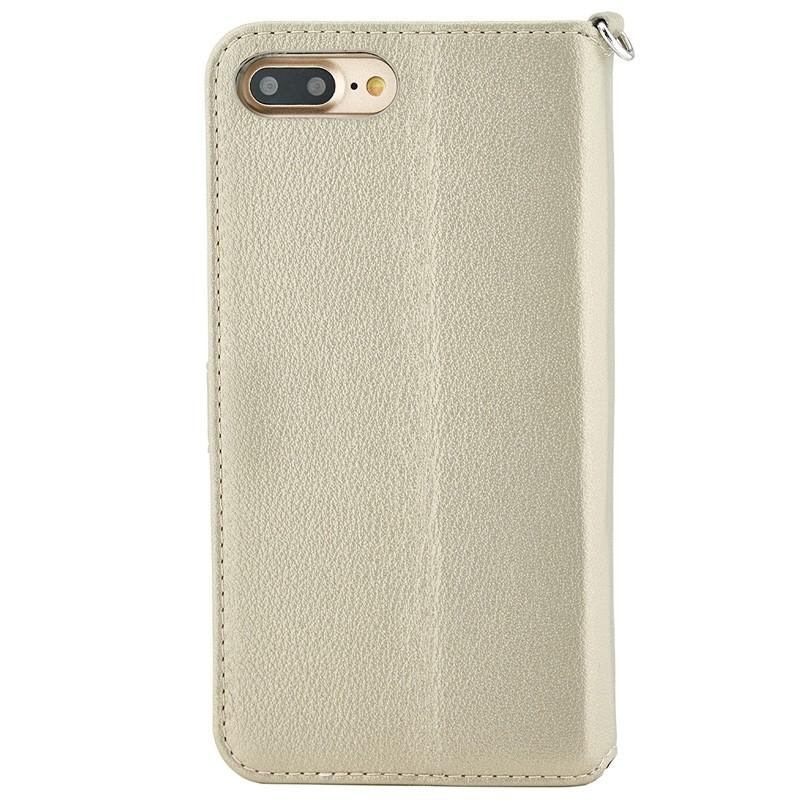 Valenta - Premium Booklet iPhone 8 Plus/7 Plus gold 02