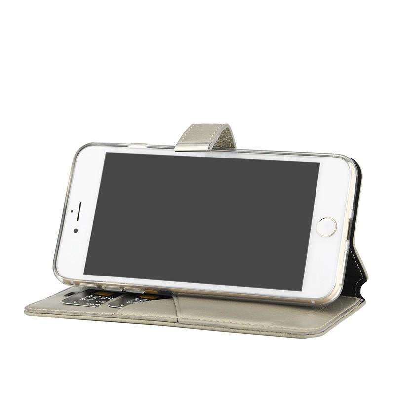 Valenta - Premium Booklet iPhone 8 Plus/7 Plus gold 04