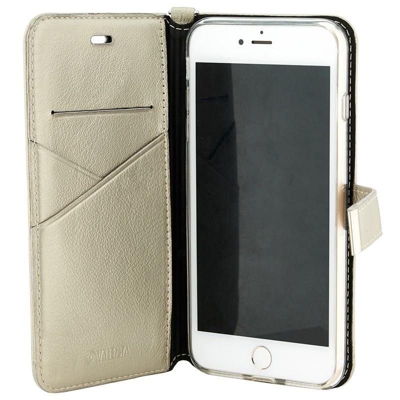 Valenta - Premium Booklet iPhone 8 Plus/7 Plus gold 03