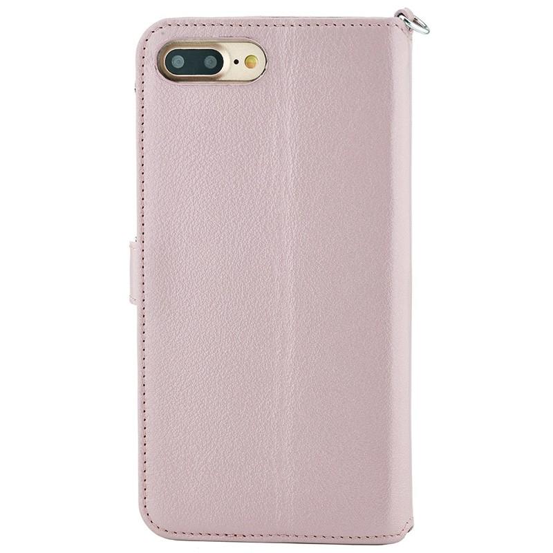 Valenta - Premium Booklet iPhone 8 Plus/7 Plus rose gold 02