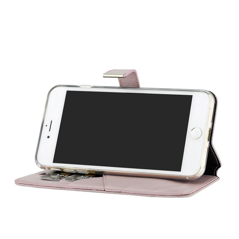 Valenta - Premium Booklet iPhone 8 Plus/7 Plus rose gold 04