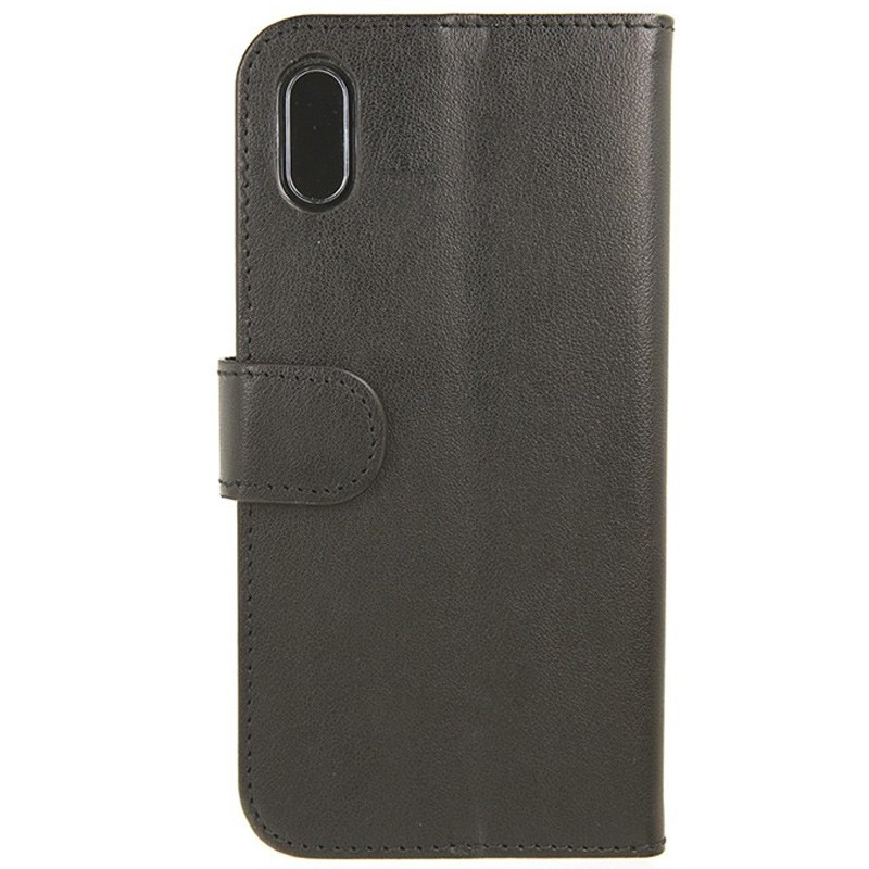 Valenta Booklet Classic Luxe iPhone X/Xs Black - 1