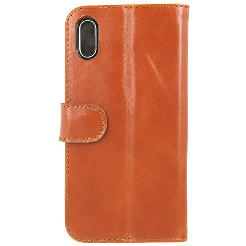 Valenta Booklet Classic Luxe iPhone X/Xs Brown - 1