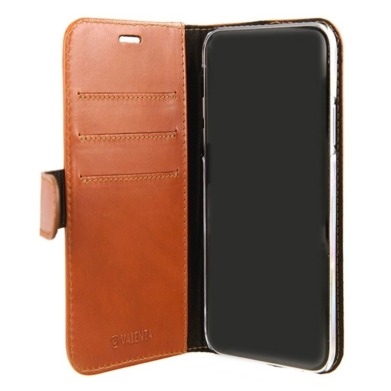 Valenta Booklet Classic Luxe iPhone X/Xs Brown - 3