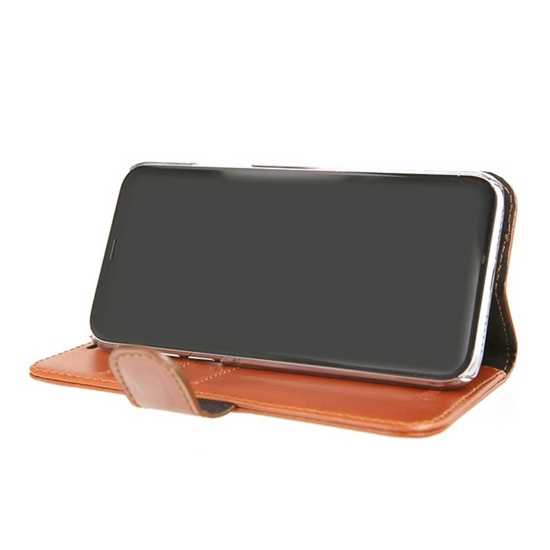 Valenta Booklet Classic Luxe iPhone X/Xs Brown - 4