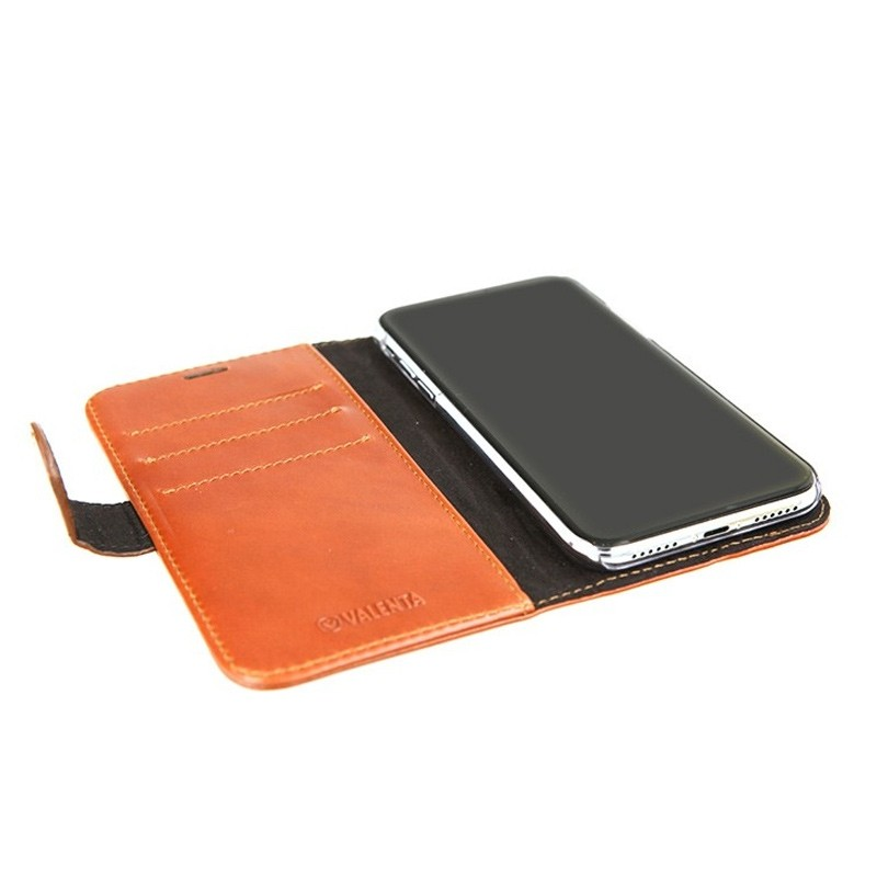 Valenta Booklet Classic Luxe iPhone X/Xs Brown - 5