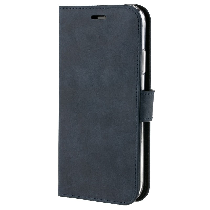Valenta Booklet Classic Luxe iPhone XR Vintage Blue 04