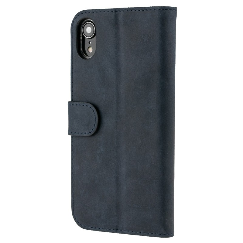 Valenta Booklet Classic Luxe iPhone XR Vintage Blue 05