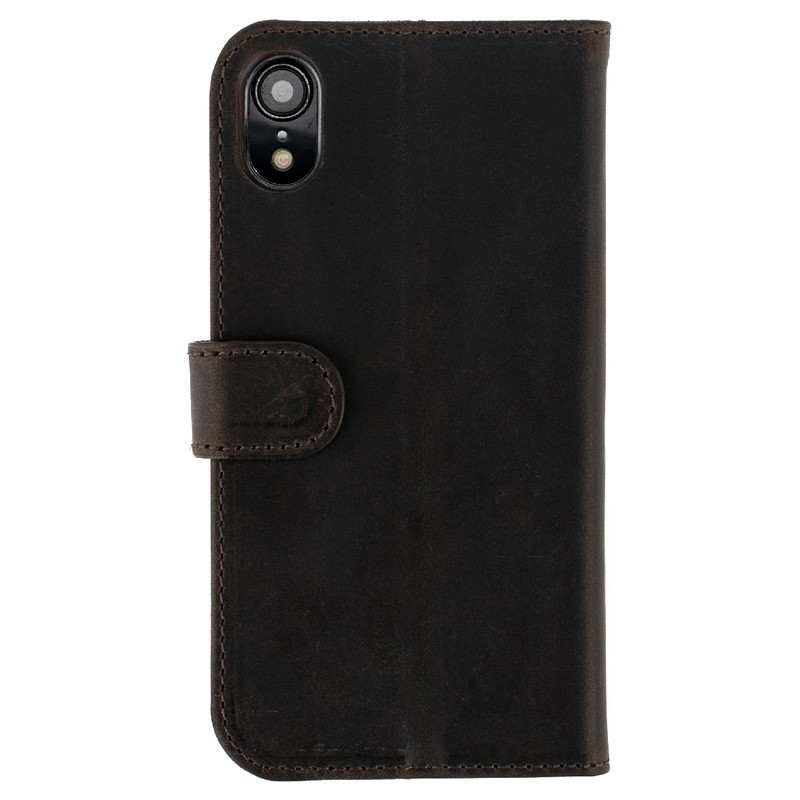 Valenta Booklet Classic Luxe iPhone XR Vintage Brown 02