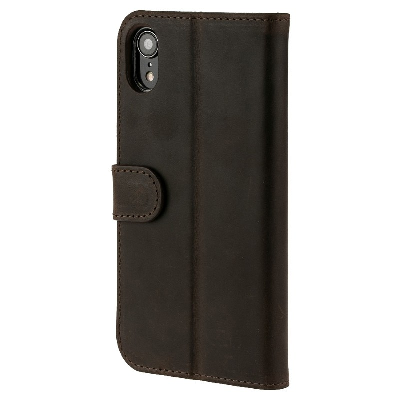 Valenta Booklet Classic Luxe iPhone XR Vintage Brown 05