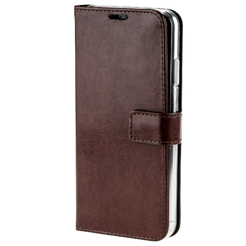 Valenta Booklet Leather Gel Skin iPhone XS Max Bruin 04