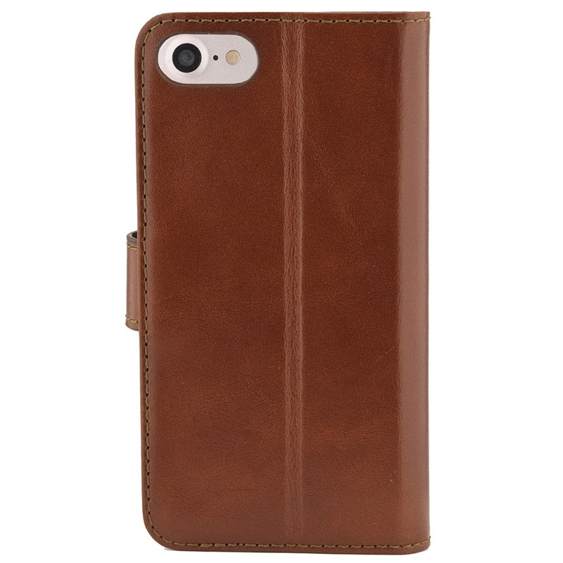 Valenta Premium Booklet iPhone 8/7 brown 02