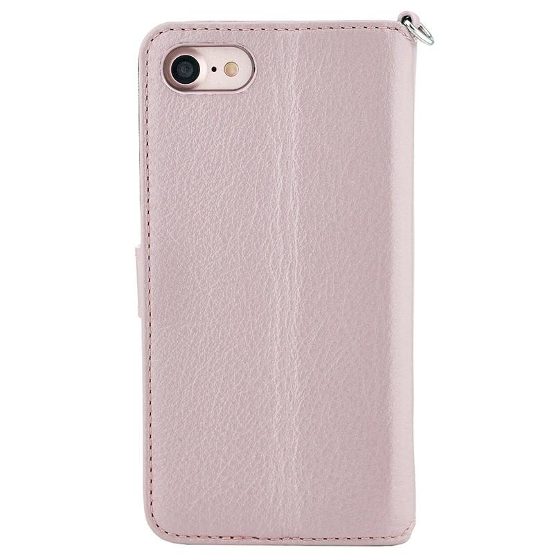 Valenta Premium Booklet iPhone 8/7 rose gold 02