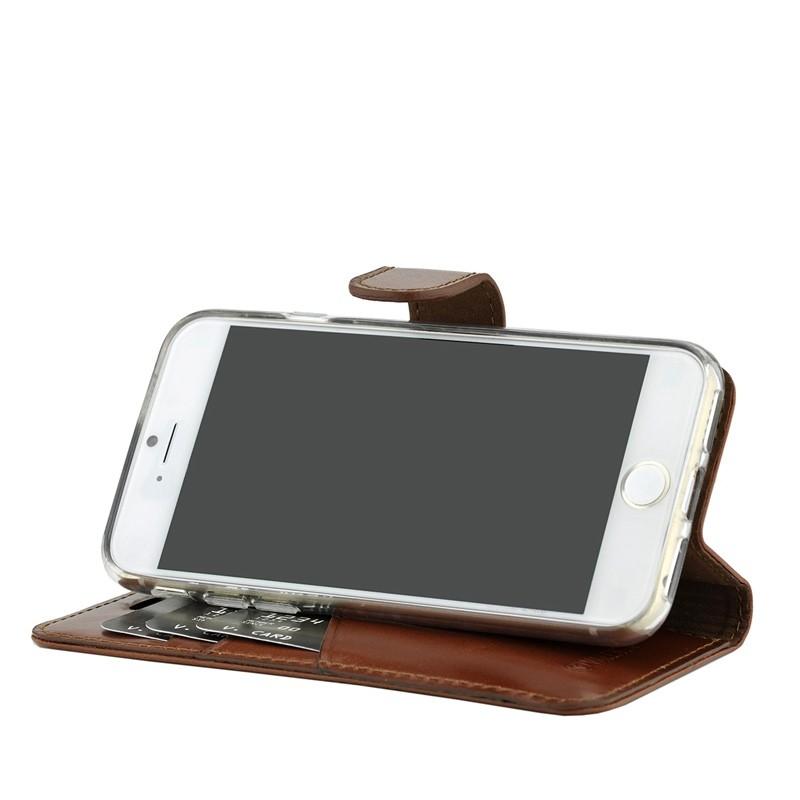 Valenta - Premium Booklet iPhone 8 Plus/7 Plus brown 04