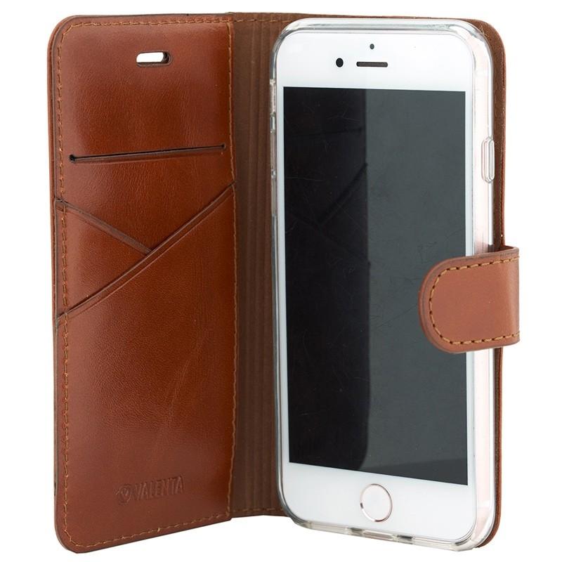 Valenta - Premium Booklet iPhone 8 Plus/7 Plus brown 03