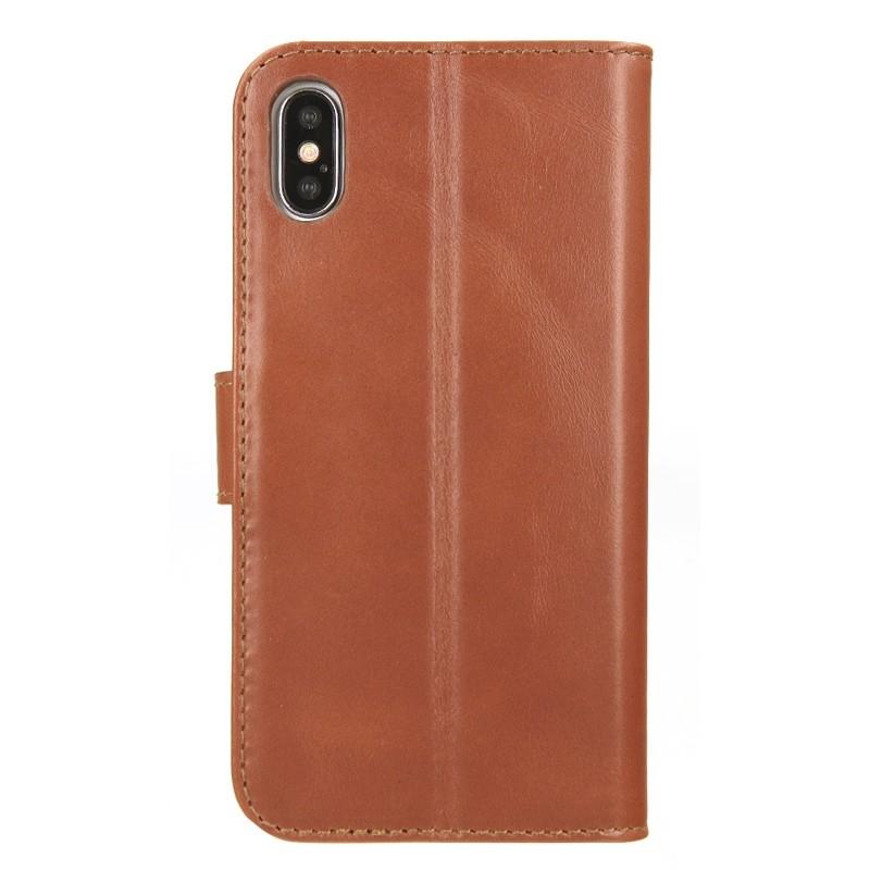 Valenta Booklet Premium iPhone X/Xs Brown - 2
