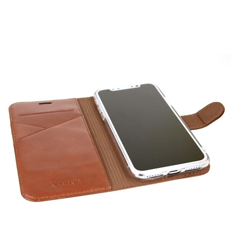 Valenta Booklet Premium iPhone X/Xs Brown - 4