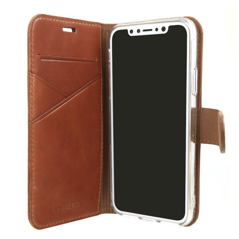 Valenta Booklet Premium iPhone X/Xs Brown - 5