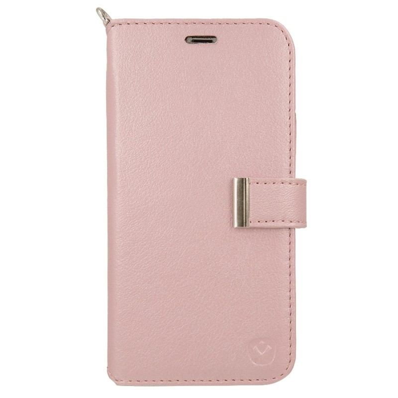 Valenta Booklet Premium iPhone X/Xs Rose Gold - 1