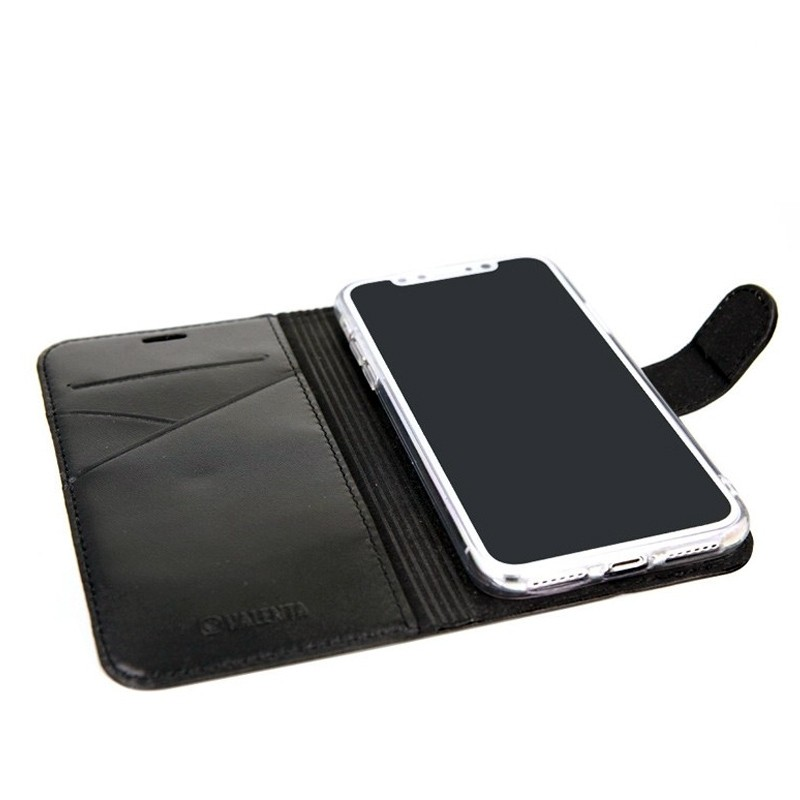 Valenta Booklet Premium iPhone XS Max Hoesje  Zwart 05