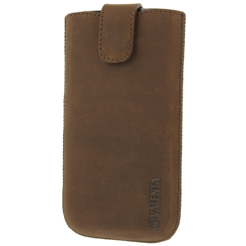 Valenta Lucca Pocket Case iPhone 8/7/6S/6 vintage brown 02