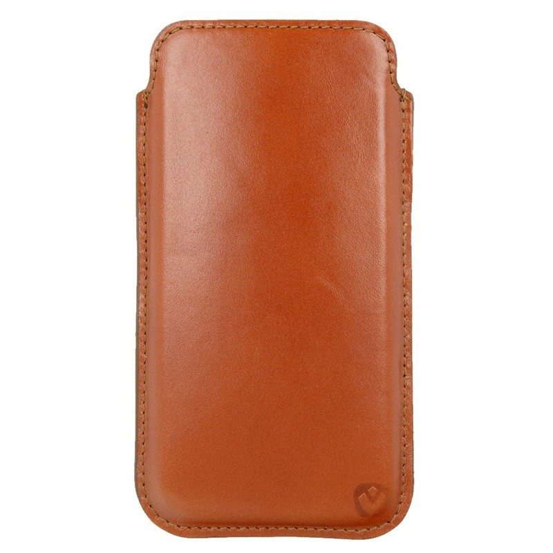 Valenta Pocket Premium iPhone XR Sleeve Bruin - 2
