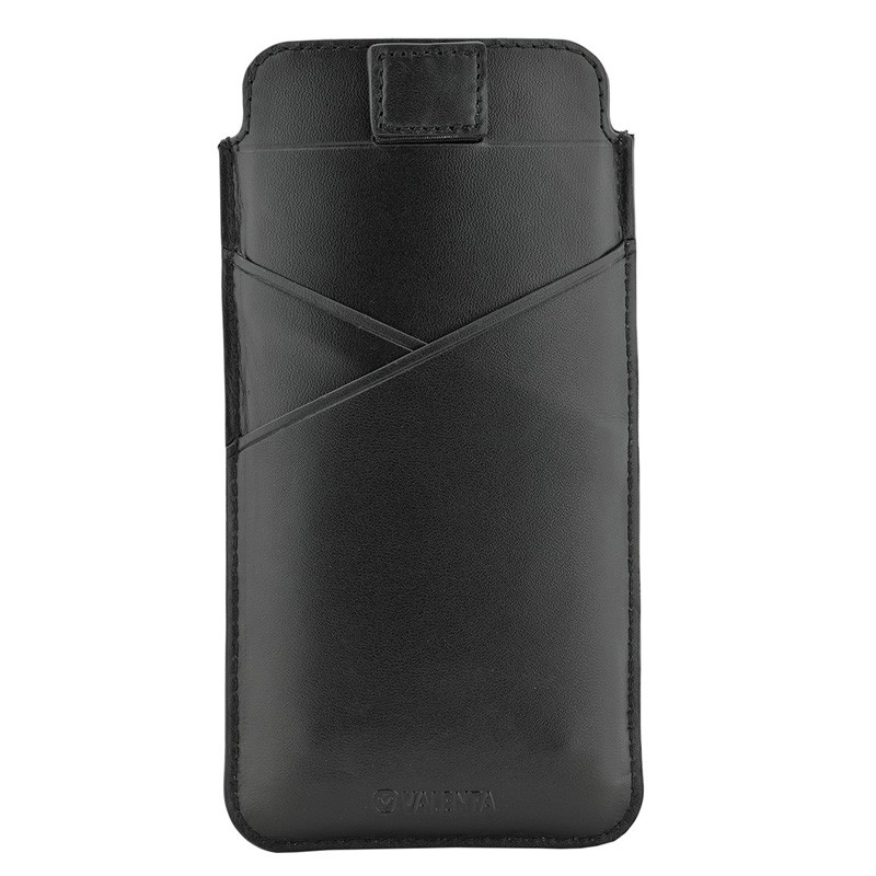 Valenta Pocket Premium iPhone XR Sleeve Zwart - 1