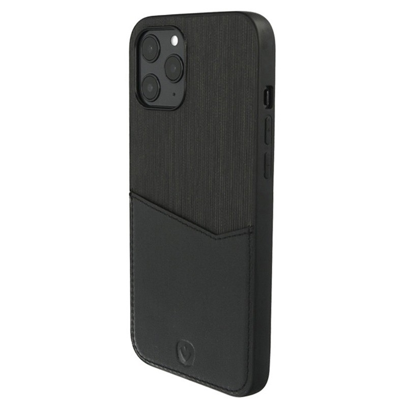 Valenta - Back Cover Card Slot iPhone 12 / iPhone 12 Pro 6.1 inch Zwart 05