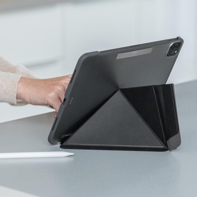 Moshi VersaCover iPad Pro 11 inch (2021/2020/2018) Zwart - 5